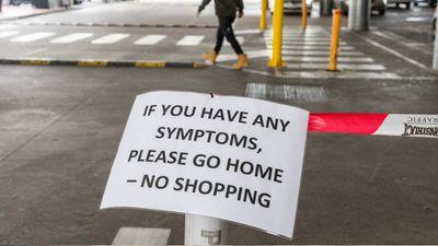 Sick? Don't hit the shops