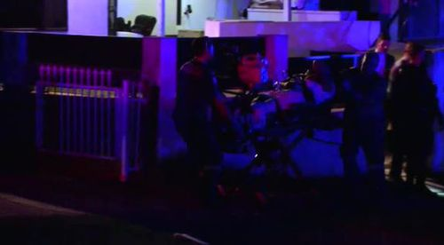 """Police called the man """"extremely lucky"""". (9NEWS)"""