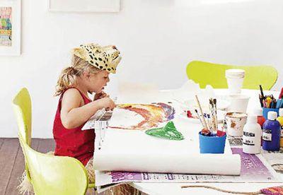 How to display kids' art