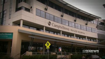 June Nutter died after a procedure at Campbelltown Private Hospital.