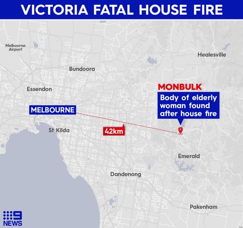 Monbulk housefire