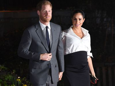 Meghan and Harry at the Endeavour Fund Awards, February 2019