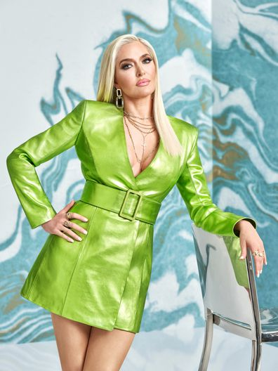 Erika Jayne promotes Season 11 of Real Housewives of Beverly Hills.