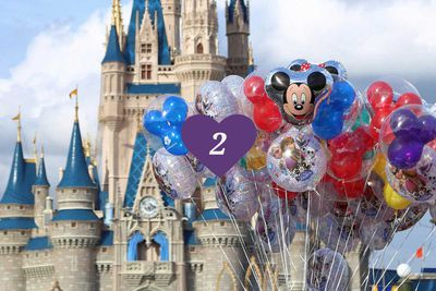 <strong>2. Walt Disney's Magic Kingdom, Florida</strong>