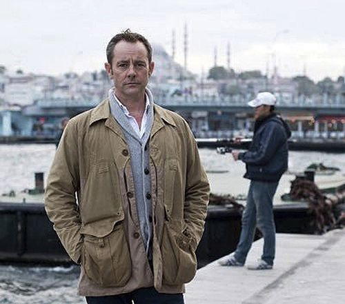 Former British army officer James Le Mesurier stands near the Golden Horn in Istanbul. The body of James Le Mesurier was found early on Monday morning, November 11, 2019, in Istanbul, Turkey.