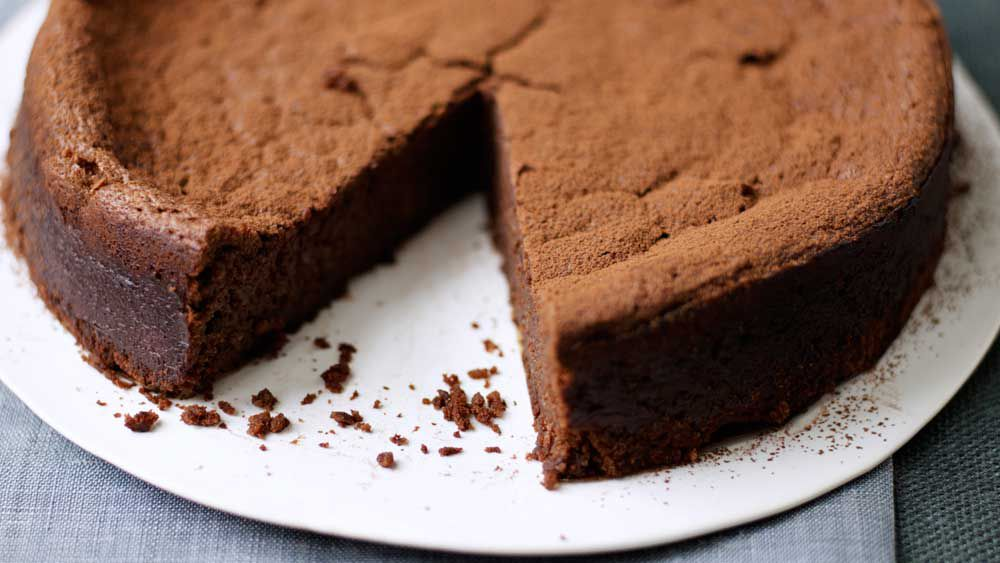 Chocolate and chestnut cake recipe