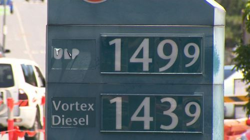 Coles and BP has been named by RACQ as the worst offenders in jacking up petrol prices. (9NEWS)