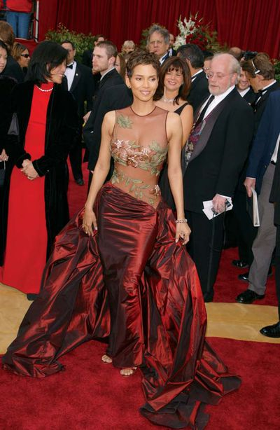 Halle Berry at the 74th Academy Awards