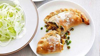 "Caramelised onion, fennel and potato Cornish pies - <a href=""http://kitchen.nine.com.au/2016/05/17/11/01/caramelised-onion-fennel-and-potato-cornish-pies"" target=""_top"">view recipe</a>"