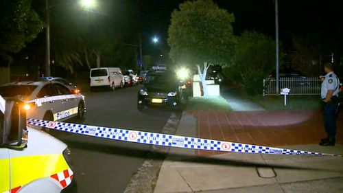 A man's ear has been partially severed in an attack in Belmore.