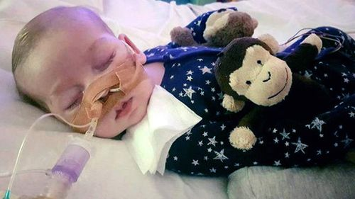 Charlie Gard is suffering from a rare form of mitochondrial disease. (AAP)