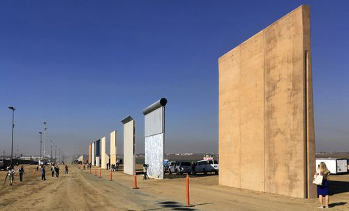 The Trump administration has proposed spending $18 billion over 10 years to extend the border wall with Mexico.