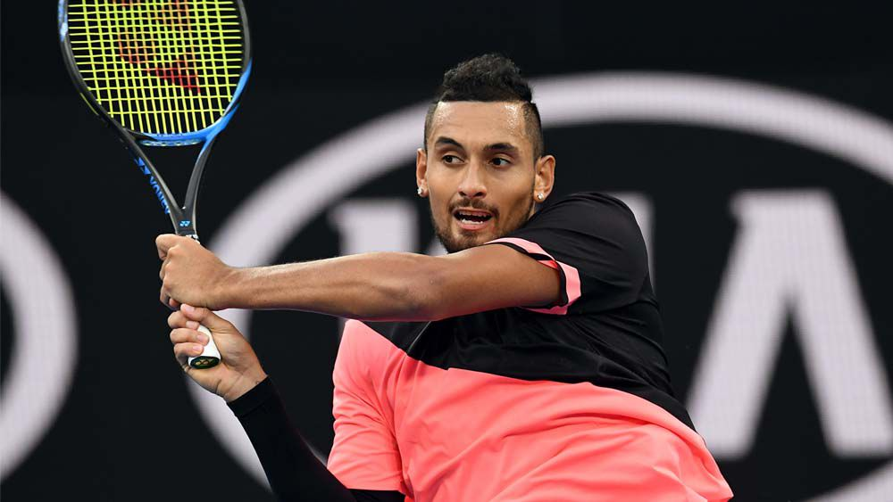 Kyrgios does it easy at Australian Open