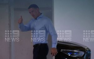 Sam Burgess' ex-wife admits going public with allegations