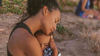 Naya Rivera and her son Josey
