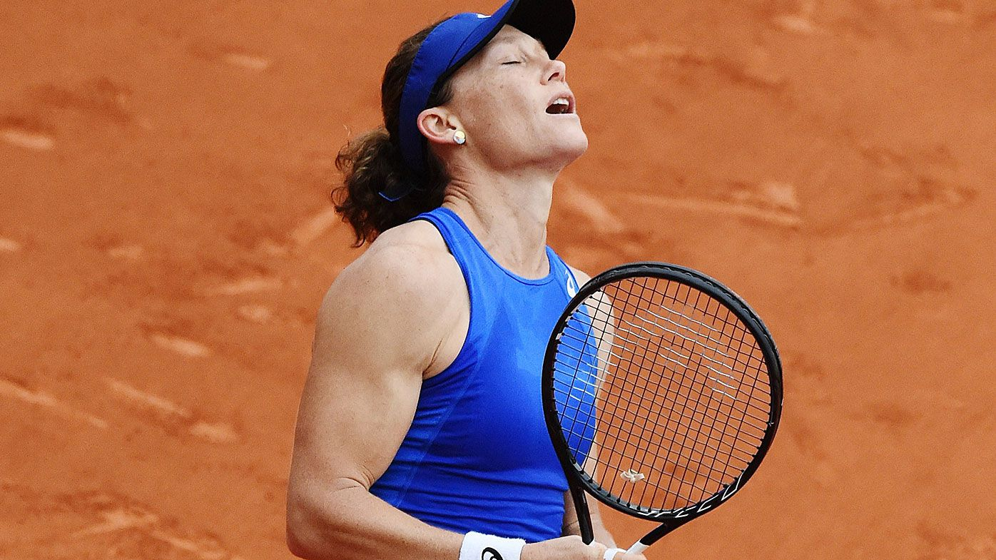 Stosur ends incredible decade-long French Open record as Thompson topples giant