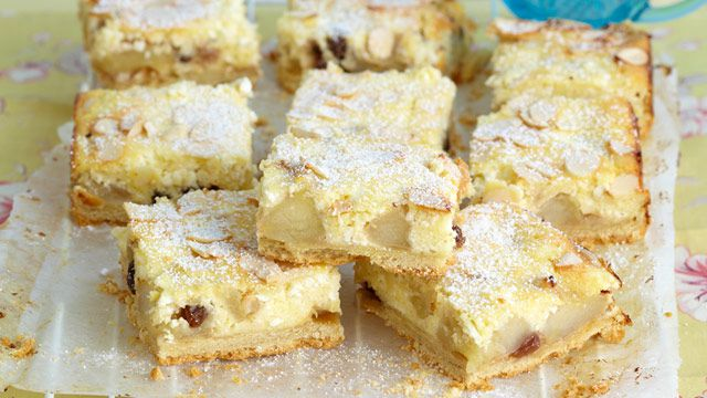 Apple and cheese slice
