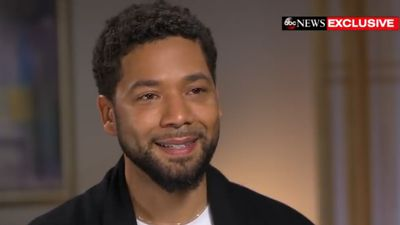 Jussie Smollett turns himself in to police over hate crime allegations