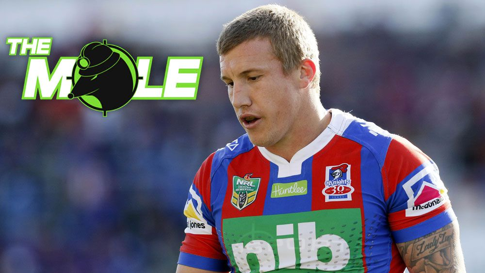 Newcastle halfback Trent Hodkinson's move to Manly hits NRL roadblock: The Mole