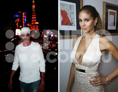 RJ Cipriani and his wife, Greice Santo, a Brazilian model and actress. Santo was also the victim of threats against her life by Owen Hanson. Source: Supplied