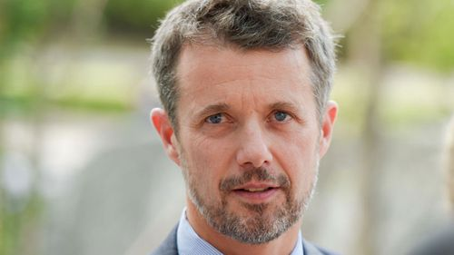 Crown Prince Frederik has returned to Denmark from the Winter Olympic. (AAP)