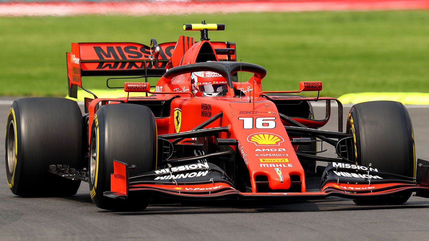 Charles Leclerc finished fourth at the Mexican Grand Prix.