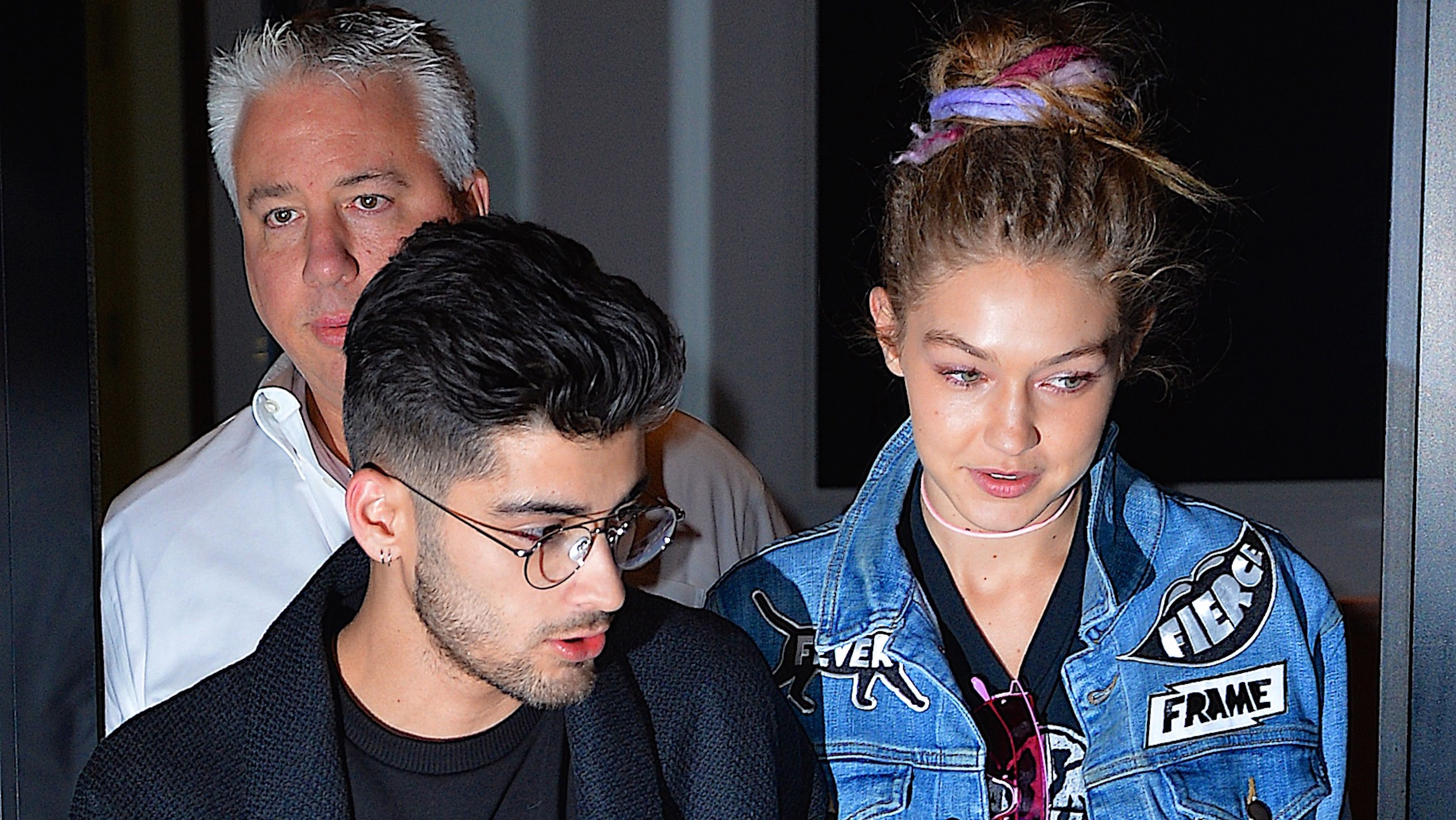 Gigi Hadid does pink eye and we can't get enough.