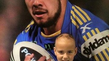 Hayne shared this photo of Timothy on his Facebook and Instagram pages. (Original image: @tufftimmy8)