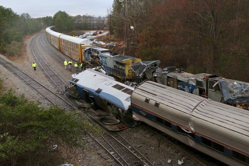 The crash occurred early Sunday morning (local time). (AAP)