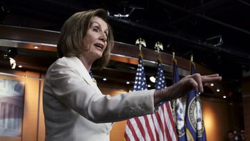Nancy Pelosi took umbrage at the notion that she 'hated' Donald Trump.