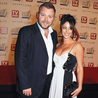 Kyle Sandilands were together for 10 years. The couple were married between 2008-2010