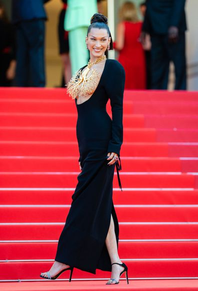 Bella Hadid at the 74th annual Cannes Film Festival 2021.