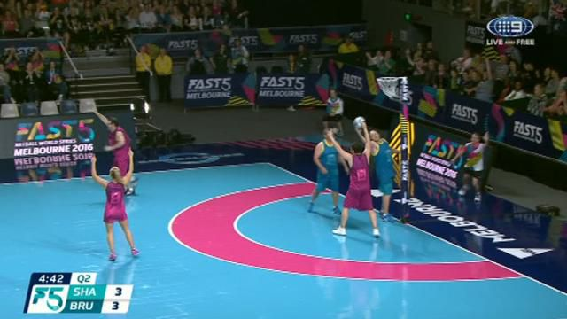 Netball: Fevola gives the shaky assist in Fast 5