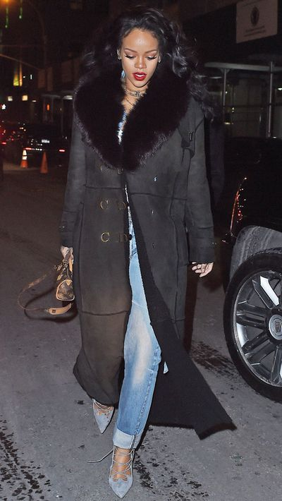 We love how this coat errs on the side of practicality