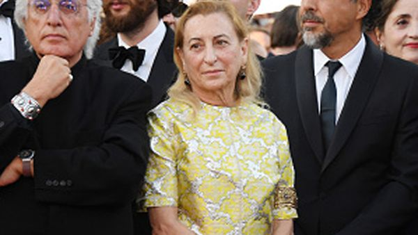Miuccia Prada is the creative director of Miu Miu. Image: Getty