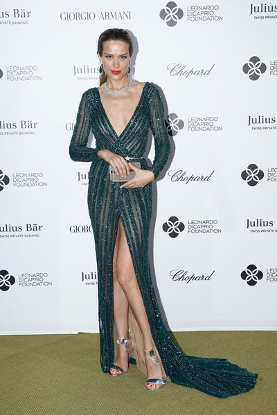 Petra Nemcova in Zuhair Murad and Chopard Jewellery