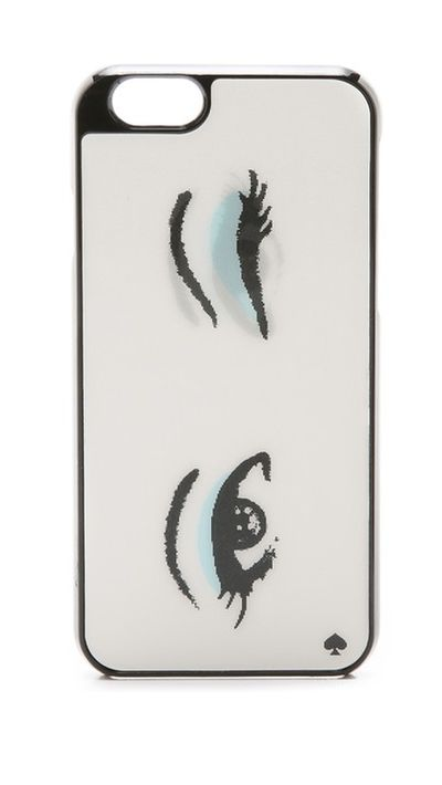 "<p><a href=""http://www.shopbop.com/lenticular-eyes-iphone-case-kate/vp/v=1/1577587059.htm?folderID=2534374302024641&fm=other-shopbysize-viewall&os=false&colorId=87461"" target=""_blank"">Lenticular Eyes iPhone 6 Case, $52, Kate Spade</a></p>"