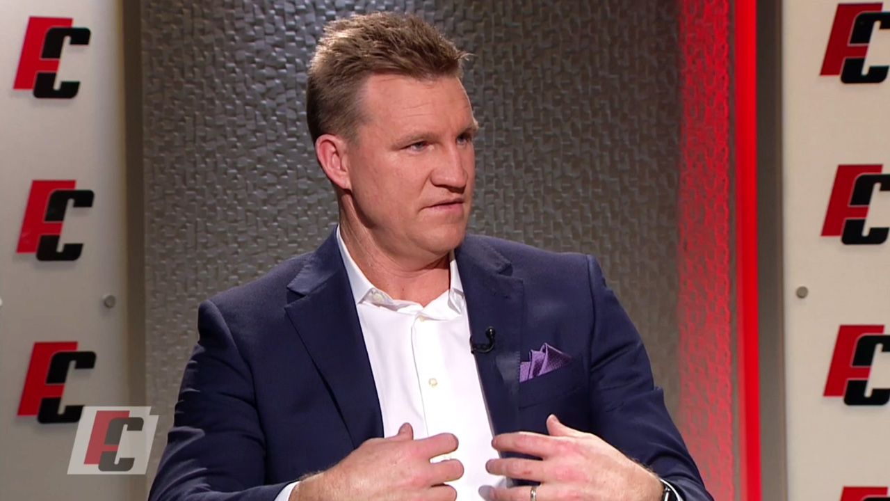 Nathan Buckley reacts to distasteful mental health tweet