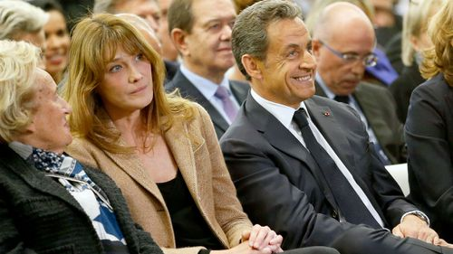 Nicolas Sarkozy and his Wife Carla Bruni. The former president was frequently under fire for making his personal life so public. (Getty Images)