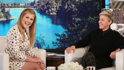 Amy Schumer stands up to body-shamers on Ellen