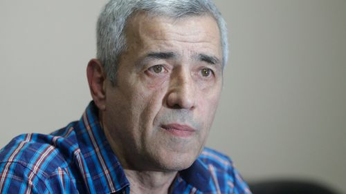 Serb politician in Kosovo, the former State Secretary for Kosovo and Metohija and a subject of a controversial war crimes trial and retrial, Oliver Ivanovic. (AAP)