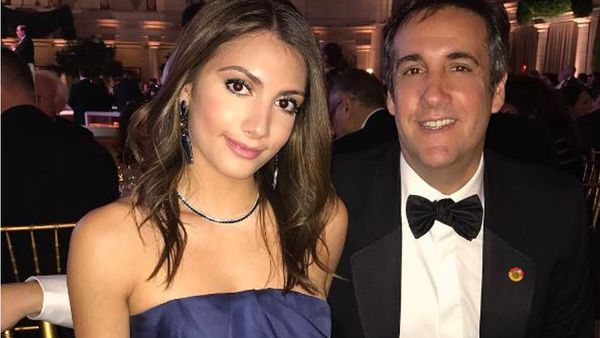 Samantha Blake Cohen with her father, Trump's personal attorney, Michael Cohen. Image: Instagram/@samichka