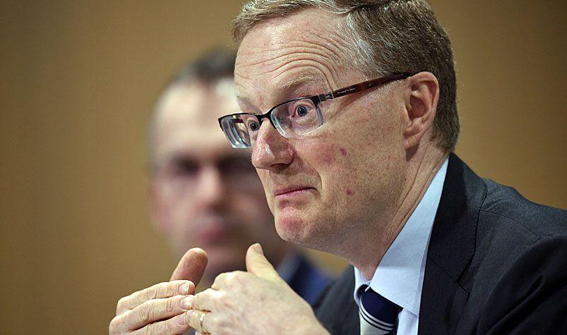 RBA governor Philip Lowe. (AAP)
