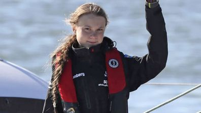 Greta Thunberg has arrived in Lisbon ahead of the UN climate conference