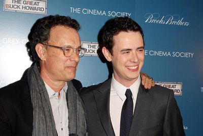 Though far less-known than his Oscar winning father, Colin Hanks has inherited his dad's love of acting, appearing in films like <i>King Kong</i>, <i>Orange County</i> and <i>The Guilt Trip</i>. Colin is 35 and it remains to be seen whether he will break the record his father set, winning two consecutive Oscars at 37 and 38 for <i>Philadelphia</i> and <i>Forest Gump</i> respectively.