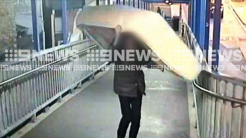 Bizarre items like mattresses are making their way onto Sydney trains. (9NEWS)