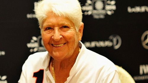 Dawn Fraser - racist? or Australian legend? (AAP)