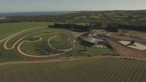 Point Leo Estate stretches 134 hectares. (9NEWS)