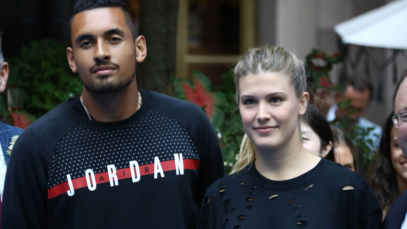 Nick Kyrgios hits back at US Open heckler over Eugenie Bouchard