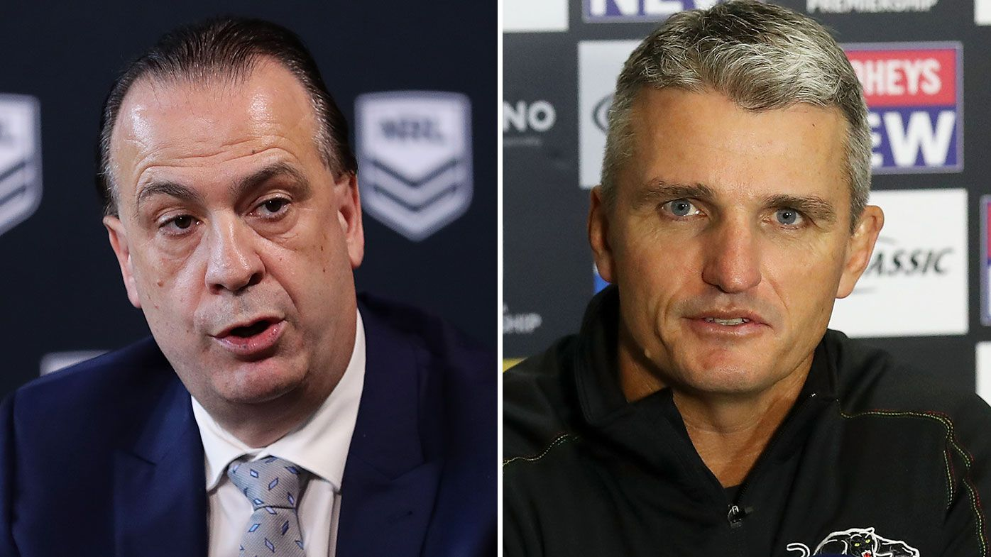 'Deplorable': Peter V'landys slams Ivan Cleary's referee accusation
